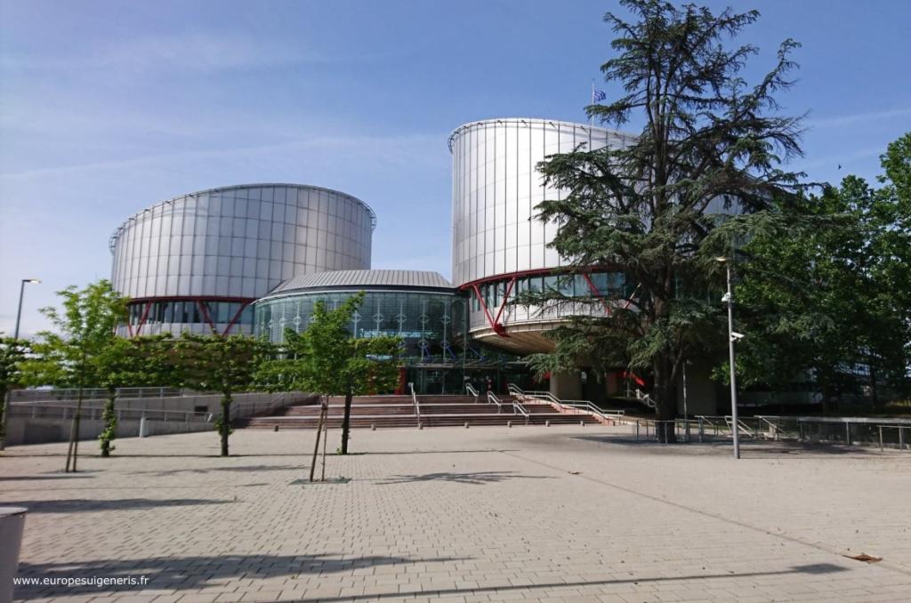 Cour européenne des droits de l'homme Strasbourg Juridiction CEDH
